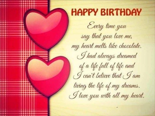 Outstanding 22 Romantic Birthday Wishes For Girlfriend Photos Picss Mine Funny Birthday Cards Online Alyptdamsfinfo